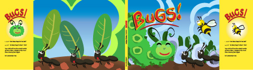 Bugs children's book cover